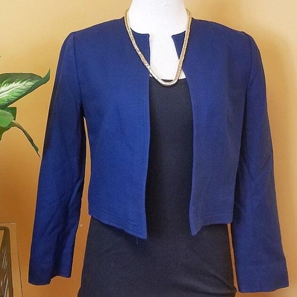 Vintage Jackets & Blazers - Vintage Pendleton petite blue blazer